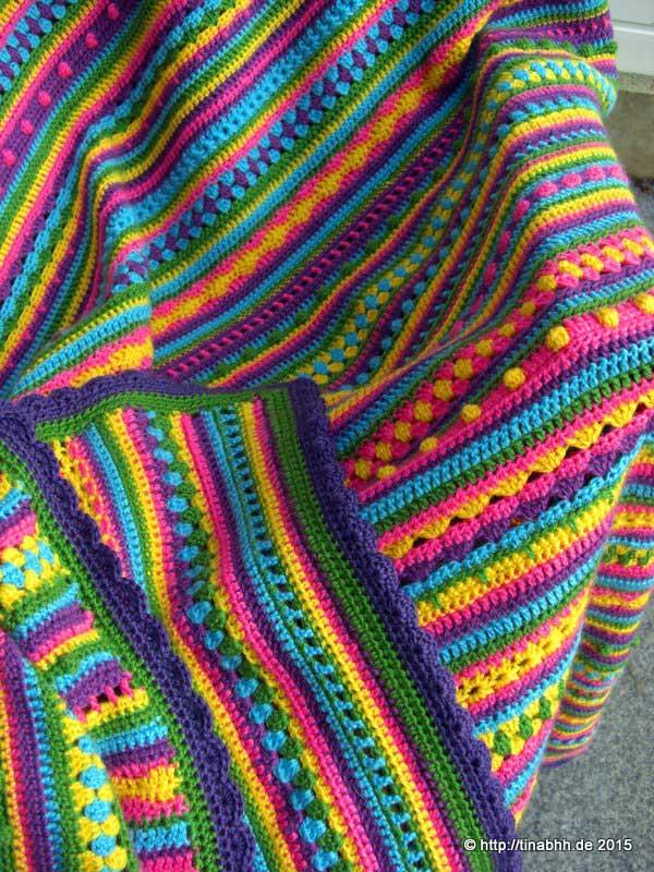 Kuscheldecke Farbenspiel