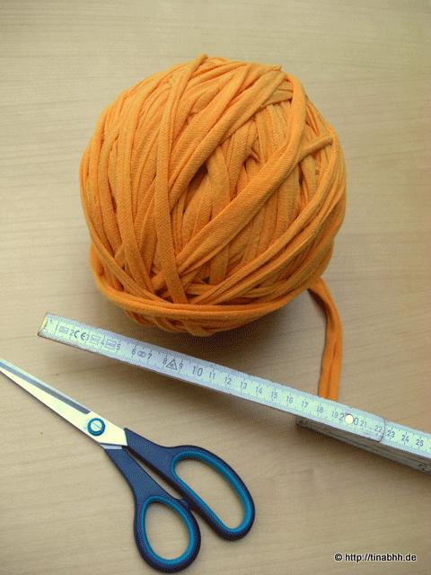 Textilgarn Knäul