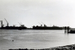 Blick über die Elbe 60er Jahre (Pap189)