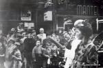 Veranstaltung in der Innenstadt 60er Jahre(Pap135)