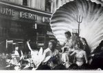 Veranstaltung in der Innenstadt 60er Jahre(Pap137)
