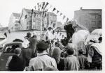 Veranstaltung in der Innenstadt 60er Jahre(Pap143)
