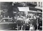 Veranstaltung in der Innenstadt 60er Jahre(Pap165)