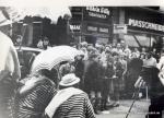 Veranstaltung in der Innenstadt 60er Jahre(Pap211)