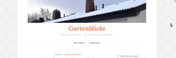 Blogbild GartenBlicke